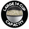 Large 14 cup capacity