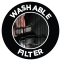 Washable filter
