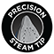 Precision steam tip