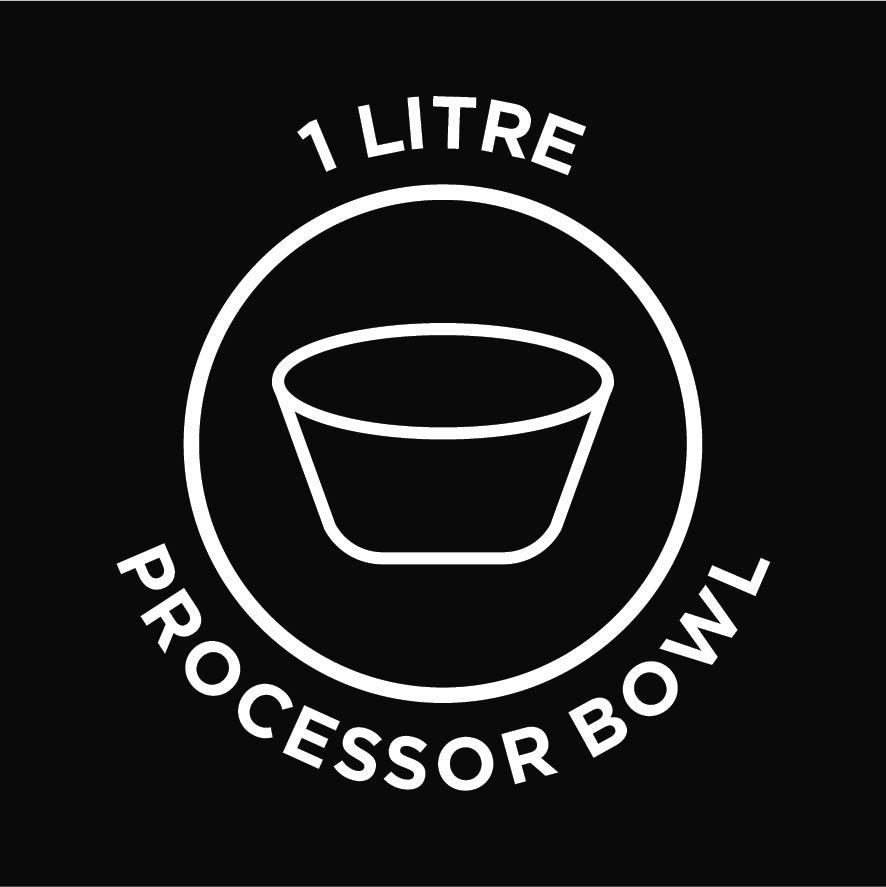 1L processor bowl