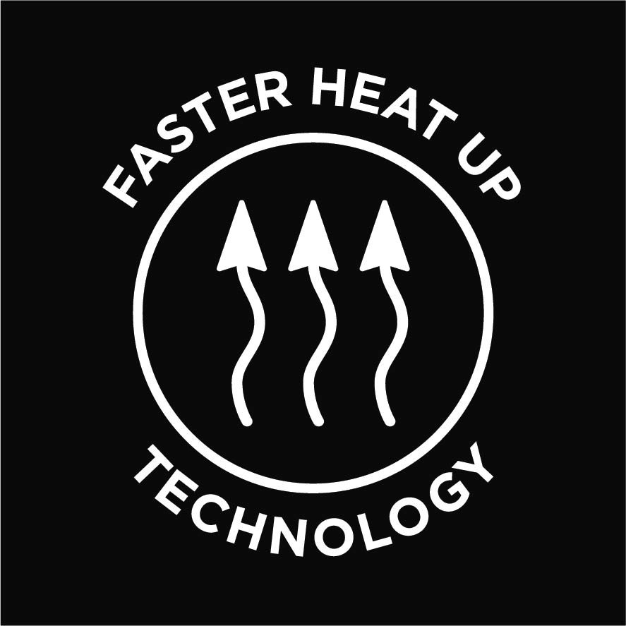 Faster heat up technology