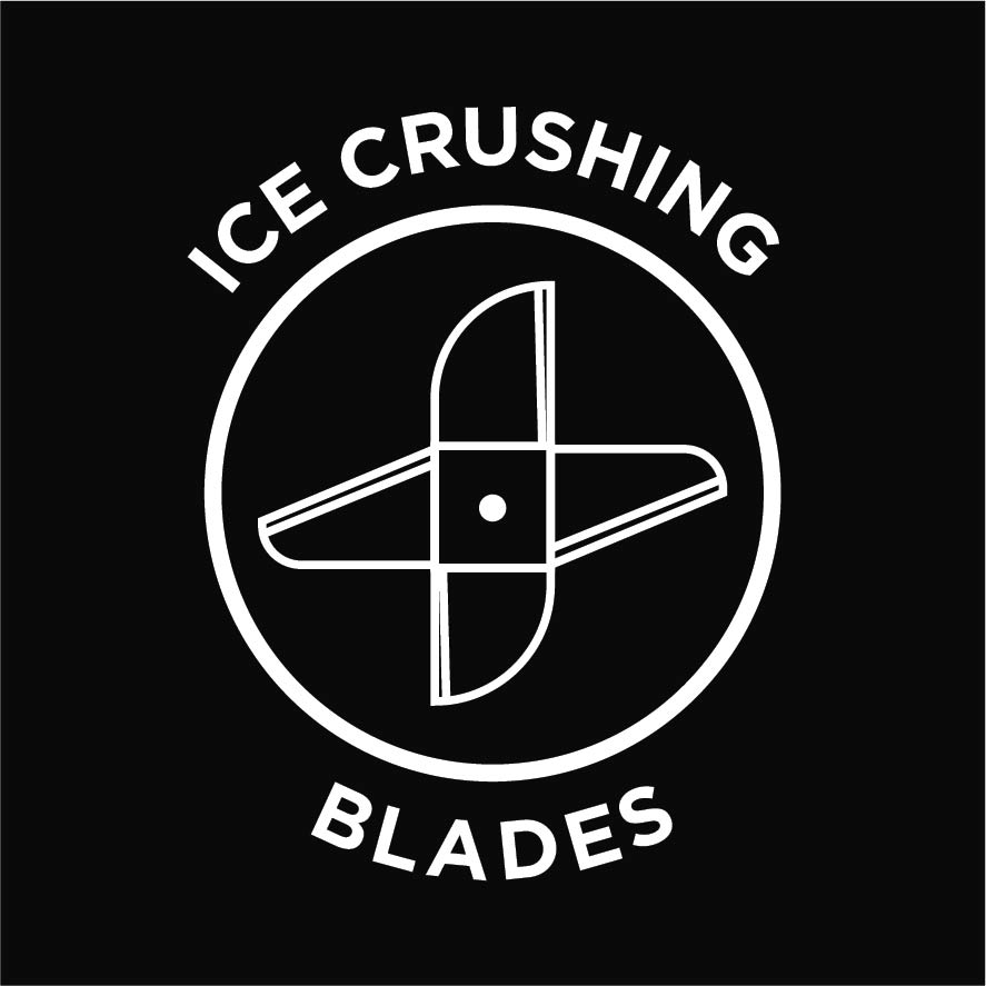 Ice crushing blades