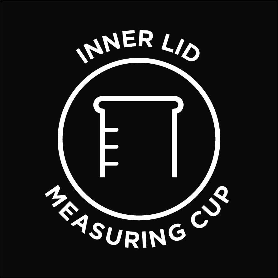 Inner lid measuring cup
