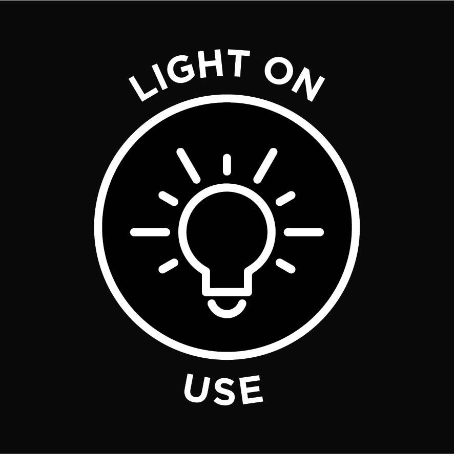 Light on use