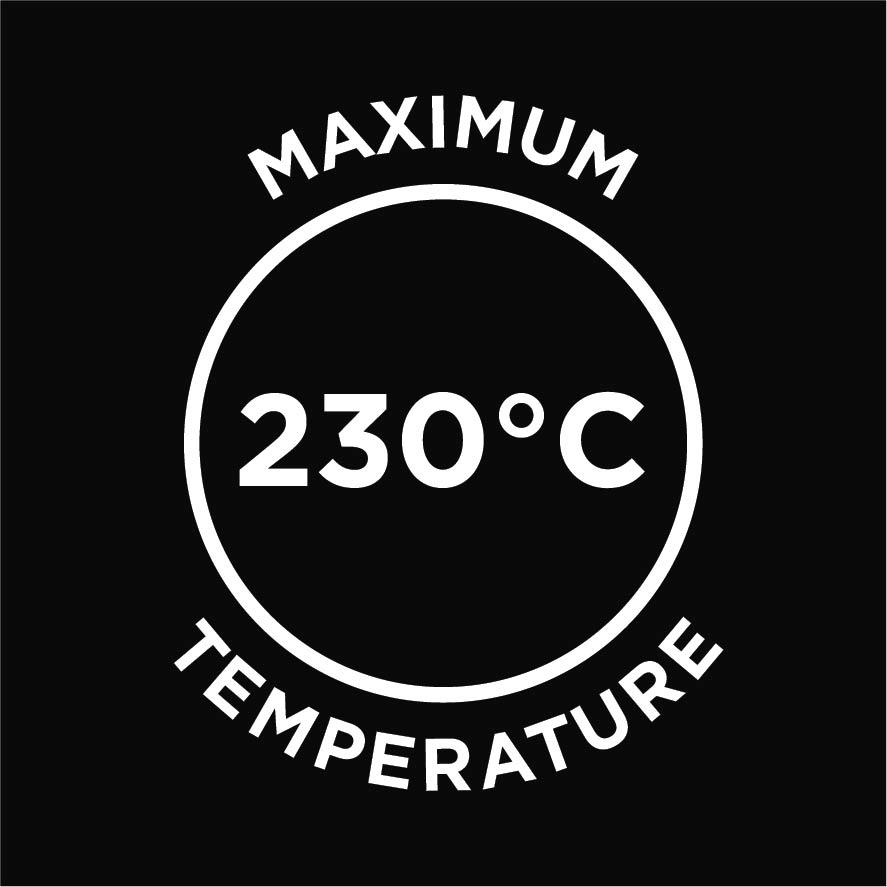 230 Max Temperature