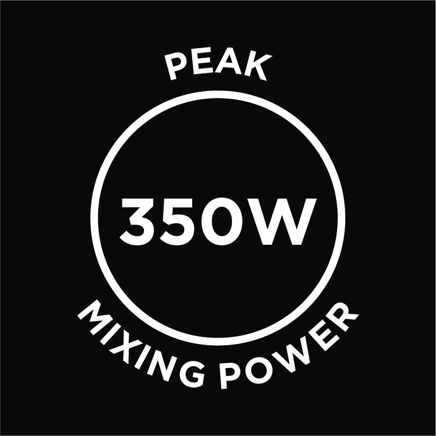 350w mixing power