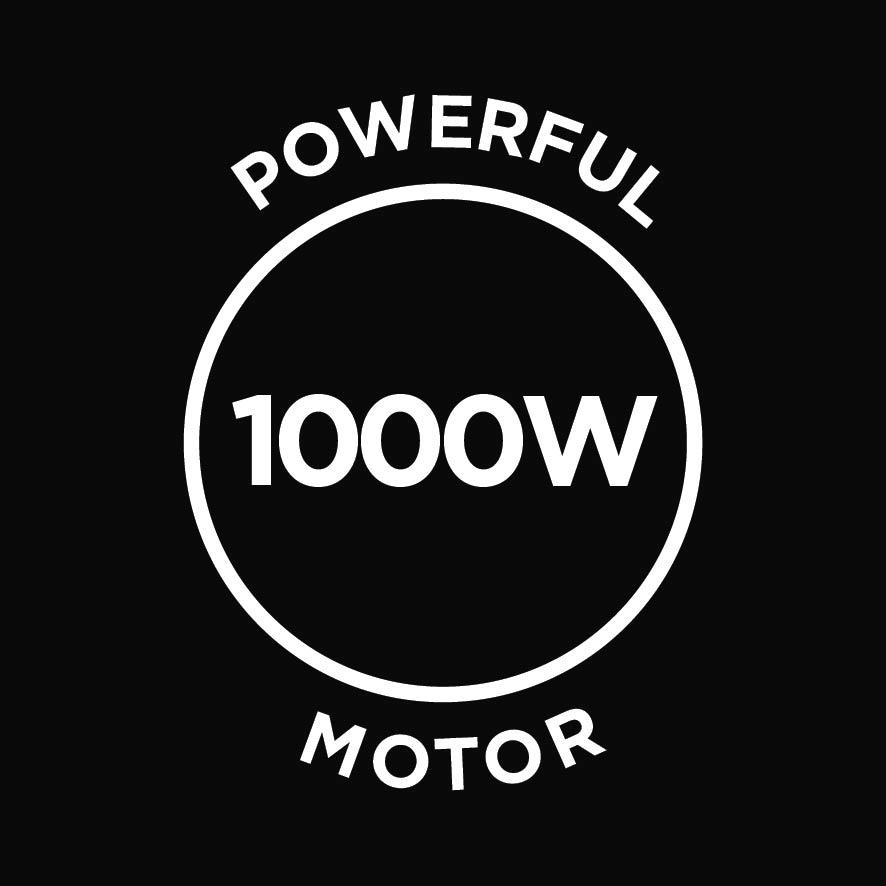Powerful 1000w motor