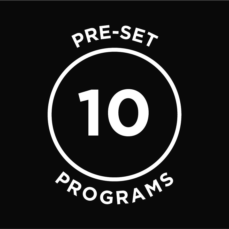 10 Preset Programs