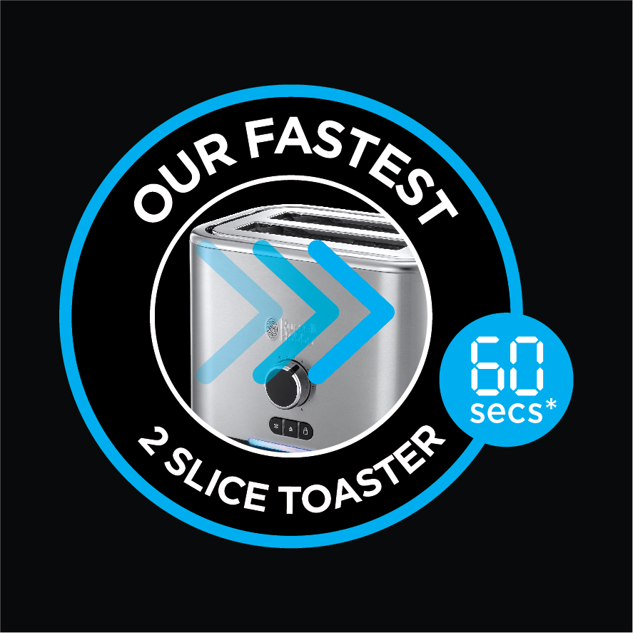 Our Fastest 2 Slice Toaster