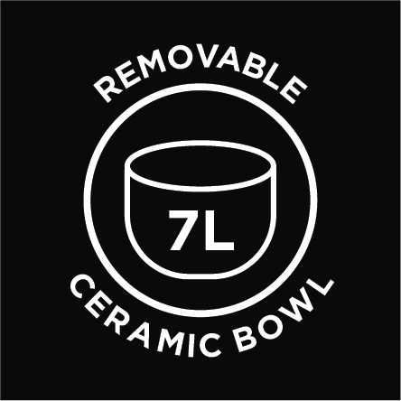 7 Litre Ceramic Bowl