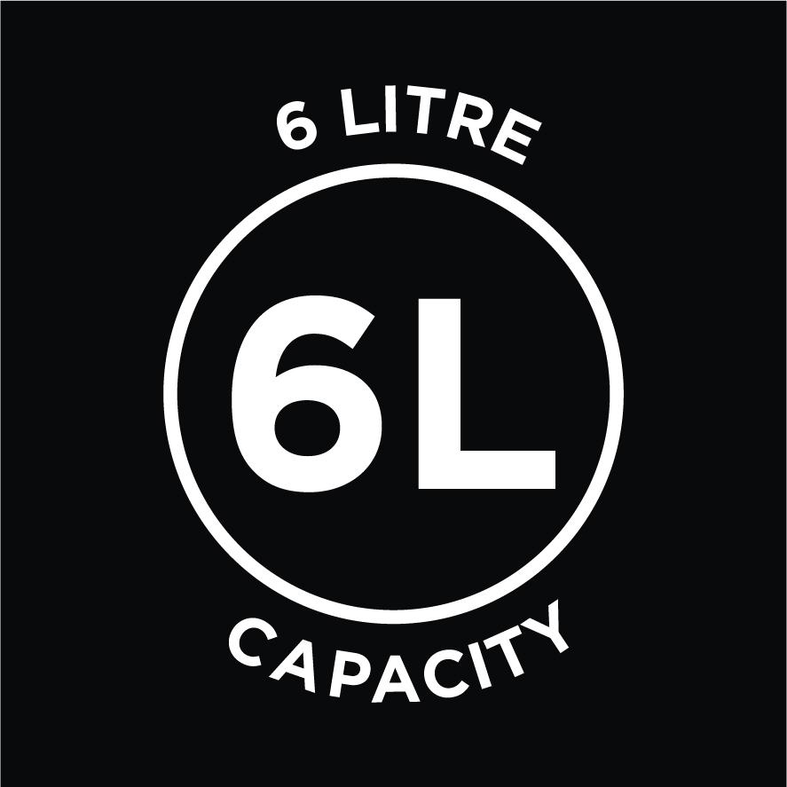 6L Capacity