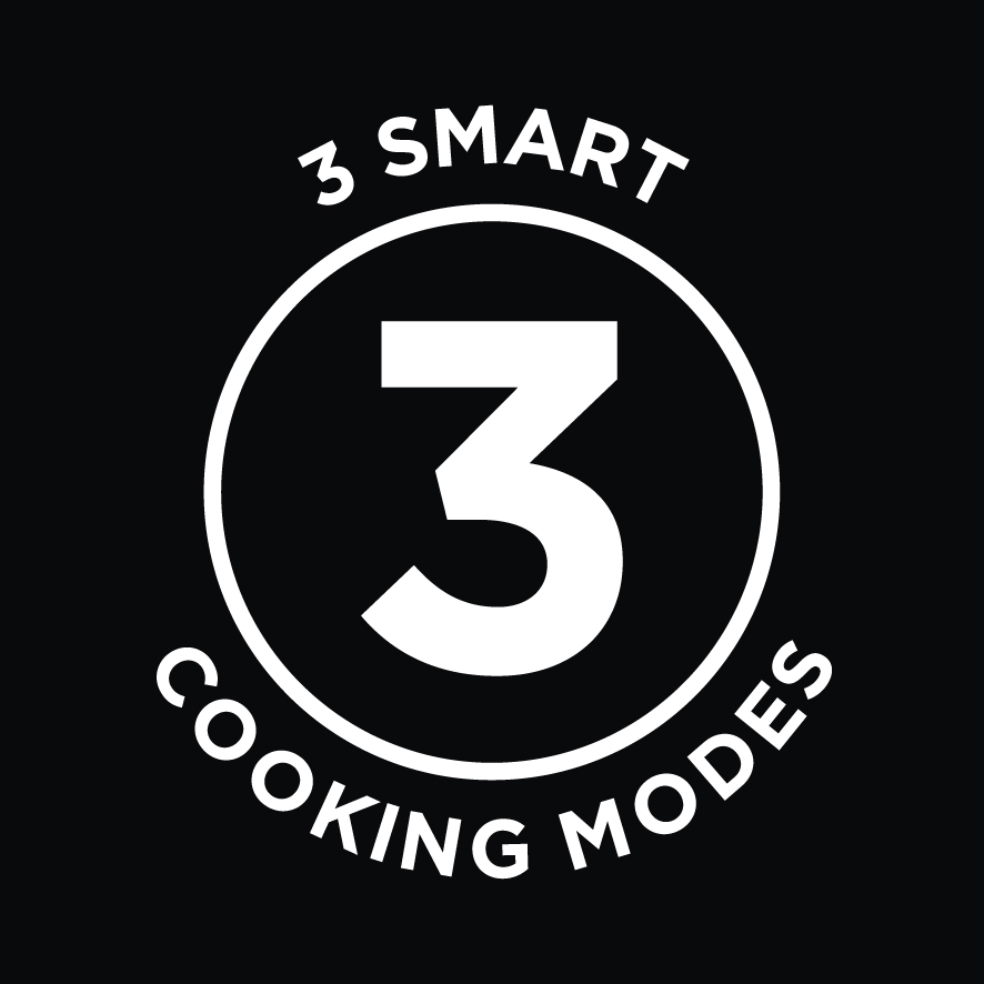 3 Smart Cooking Modes