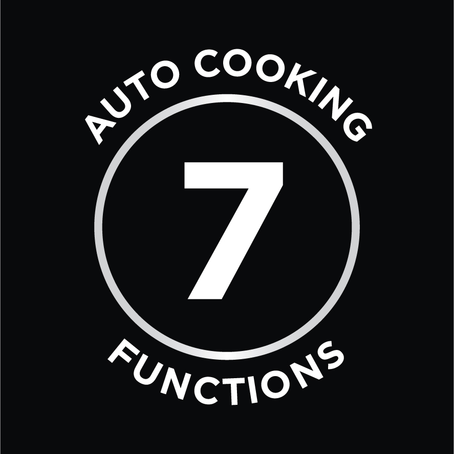 7 Auto Cooking Functions