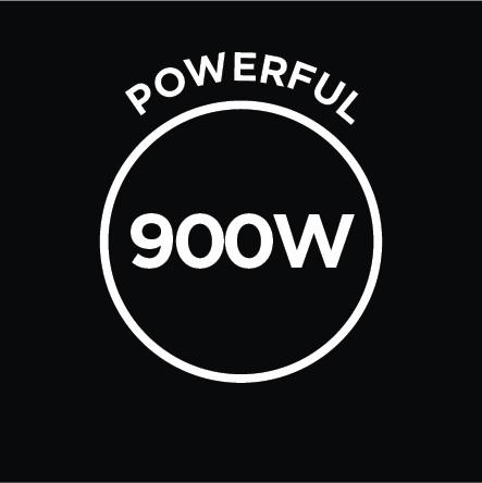 Powerful 900W