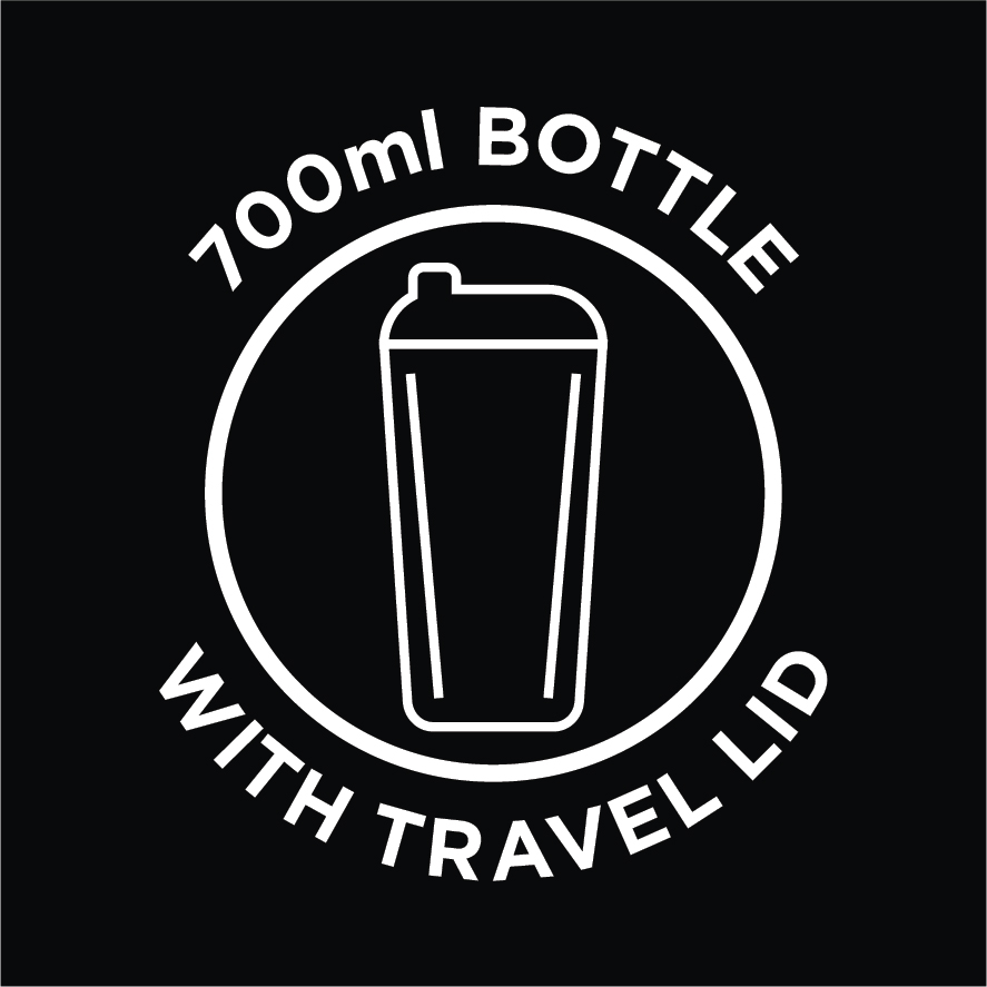 700ml Bottle with Travel Lid