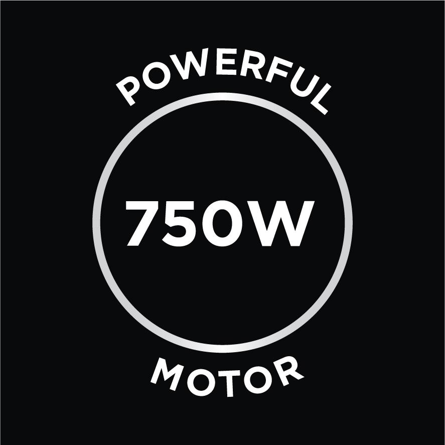 Powerful 750w Motor