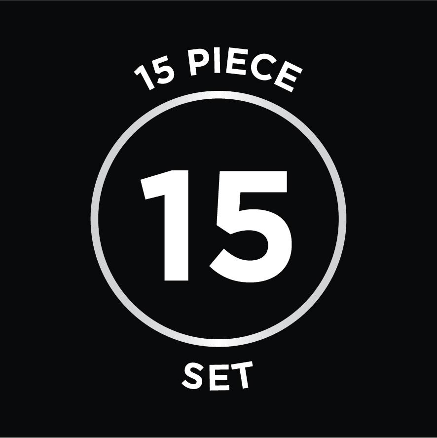 15 Piece Set