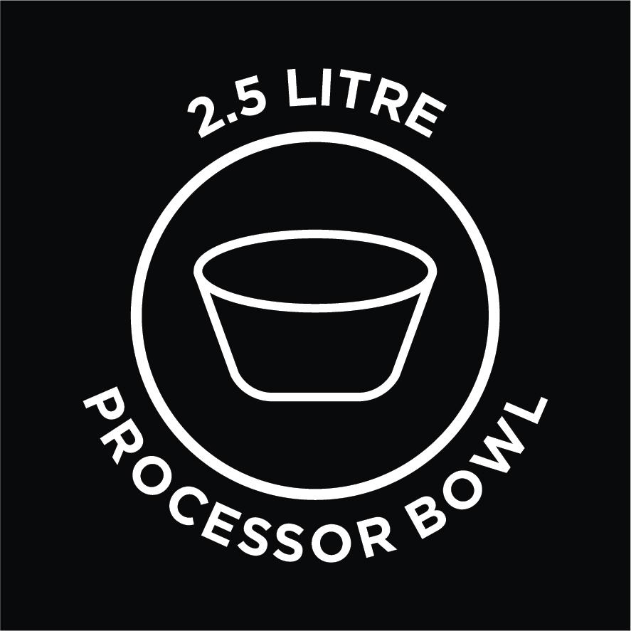 2.5L Processor Bowl