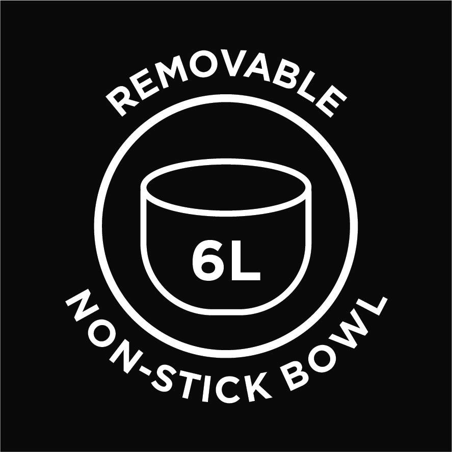 6L nonstick Bowl