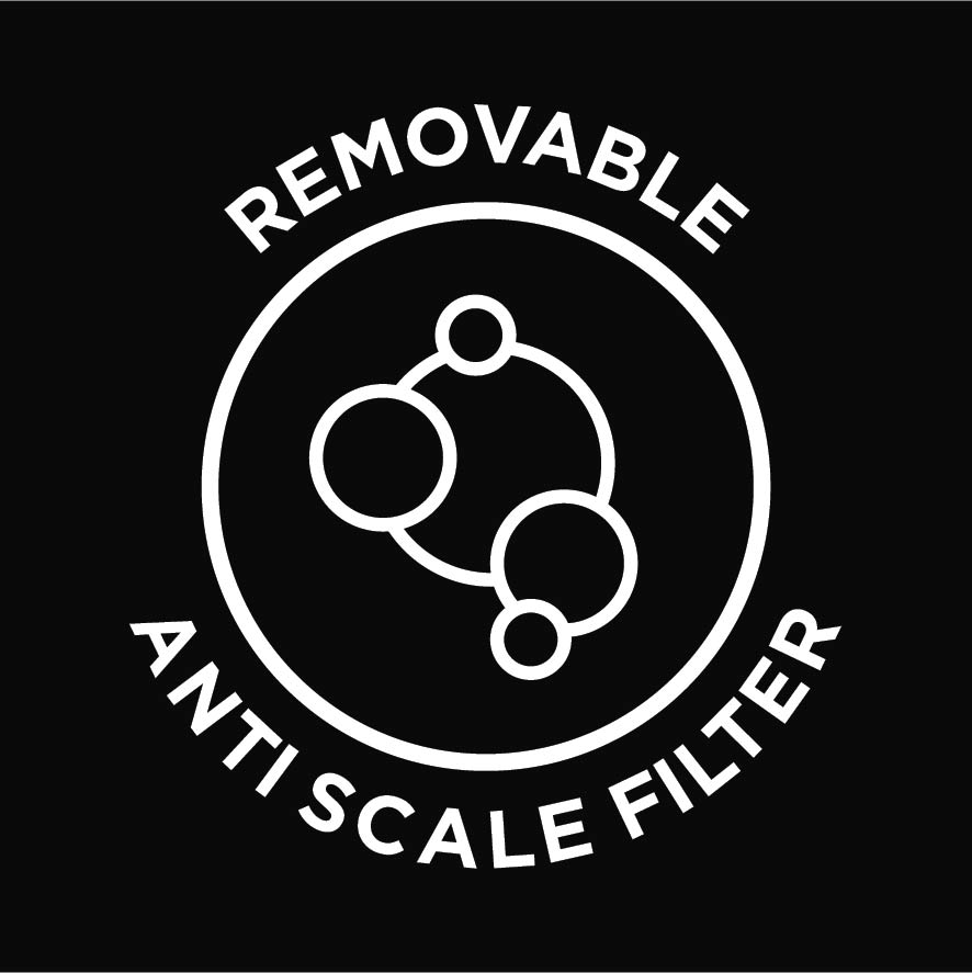 Removable Anti Scale Filter