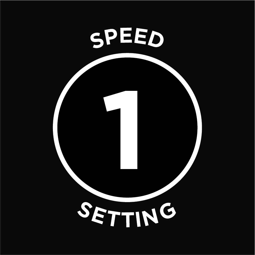 1 speed setting