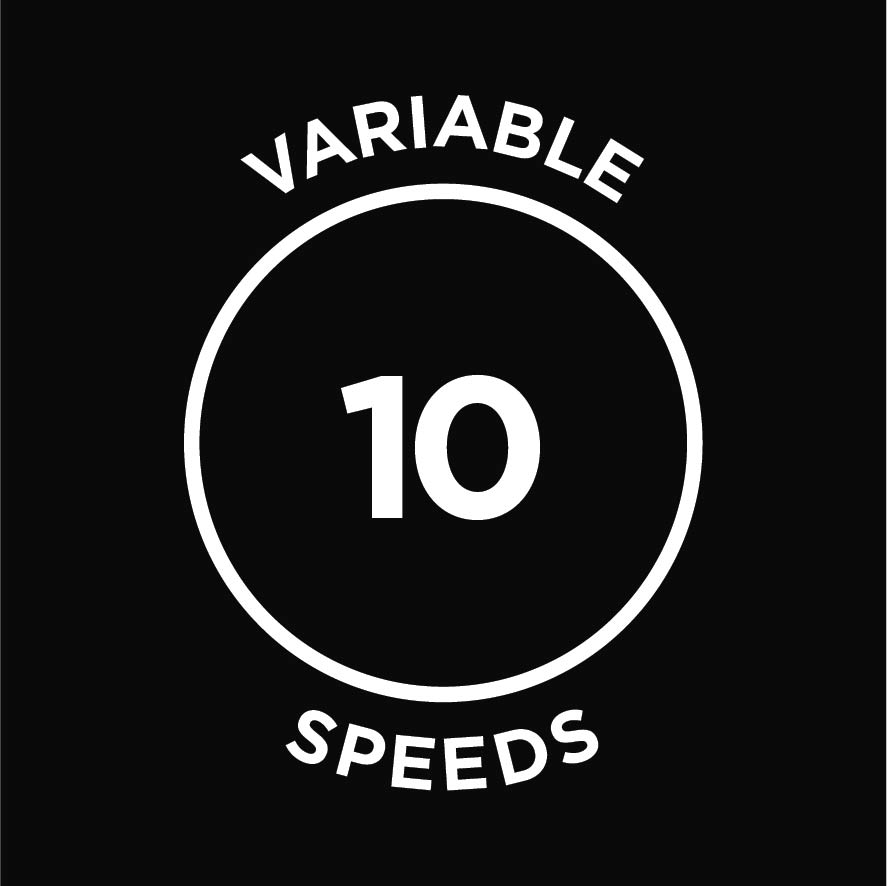 Variable 10 speeds