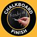 Chalkboard Finish