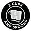 2 Cups and Spoons