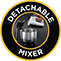 Detachable Mixer