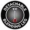 Detachable Blending Leg