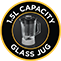 1.5L Capacity Glass Jug