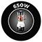 650 W teljesítmény