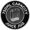 750ml Capacity Juice Jug