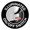 Illuminated ON/OFF Switch