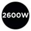 2.600 Watt