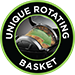 Unique Rotating Basket