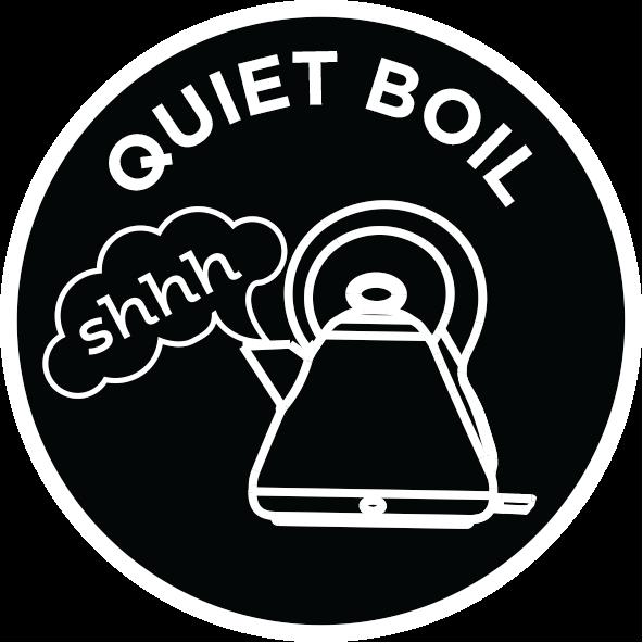 Quiet boil