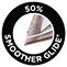 50%-kal könnyebben siklik a ruhán