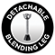 Detachable leg