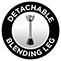 Detachable leg