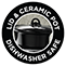 Lid & Ceramic Pot - Dishwasher Safe