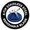 4 Tip Stainless Steel Removable Blade