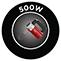 500 W