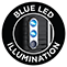 Blue LED Illumination