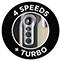 4 Geschwindigkeitsstufen + Turbofunktion