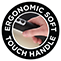 Ergonomischer Soft-Touch-Griff