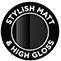 Stylish Matt & High Gloss