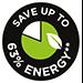 Risparmia fino al 63% di energia**
