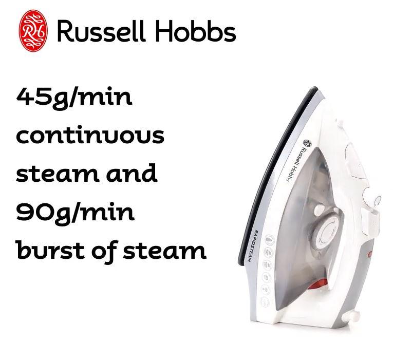 Rapidsteam Iron 360° RHC902 - Russell Hobbs