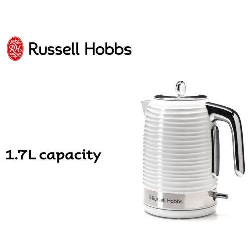 Inspire Kettle White 360° RHK112WHI - Russell Hobbs
